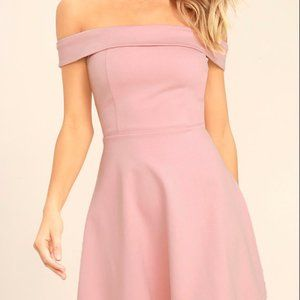 Pink Lulus Homecoming/ Formal Dress
